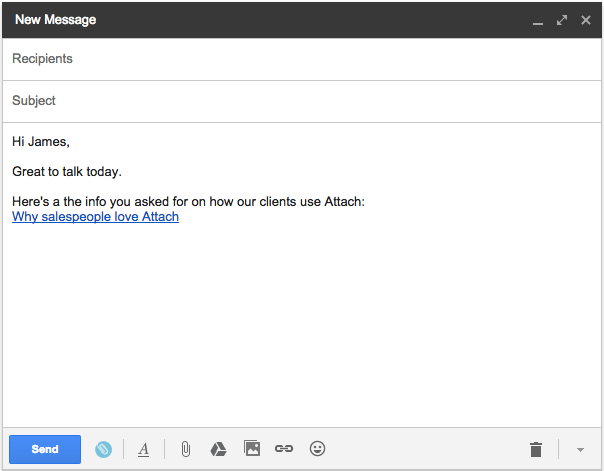 Gmail-link-anchor-text