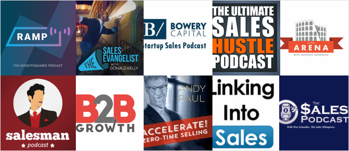 Top 10 Podcasts For Sales Professionals and Leaders