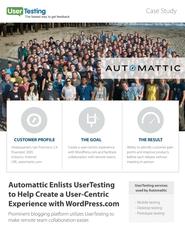 UserTesting case study