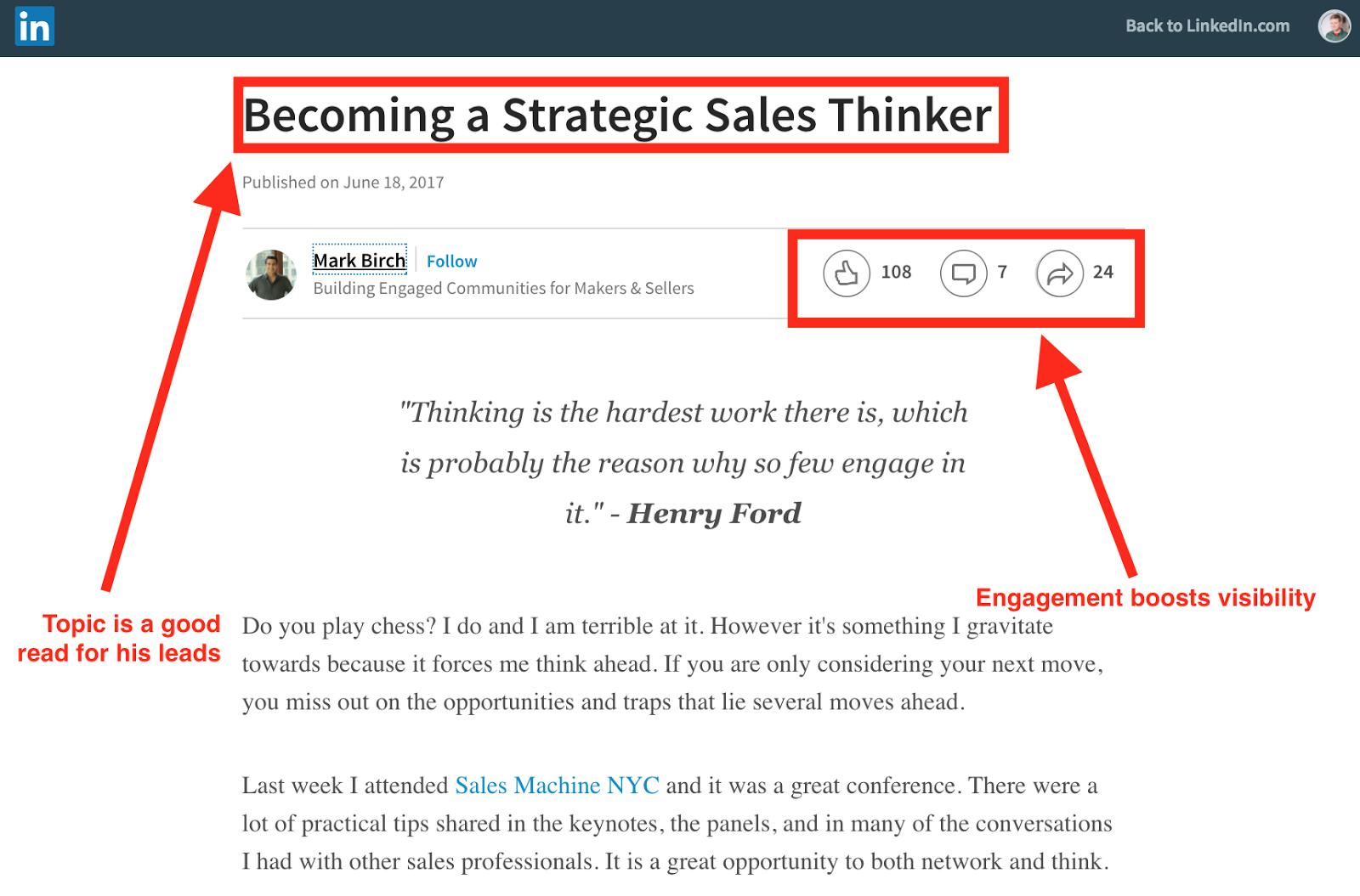 salesthinker